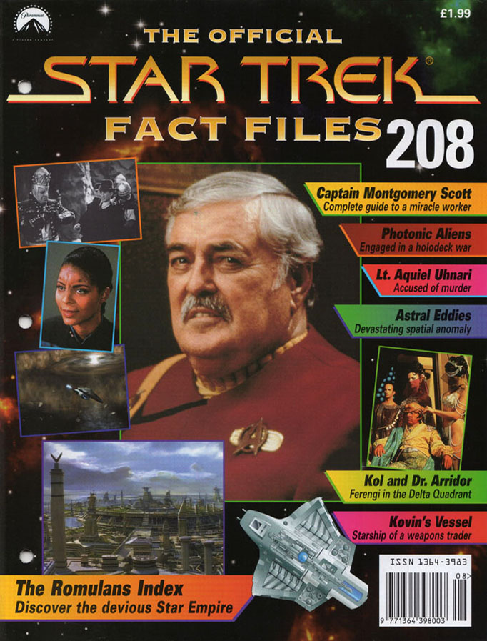 Star Trek Fact Files Cover 208