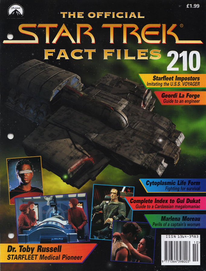 Star Trek Fact Files Cover 210