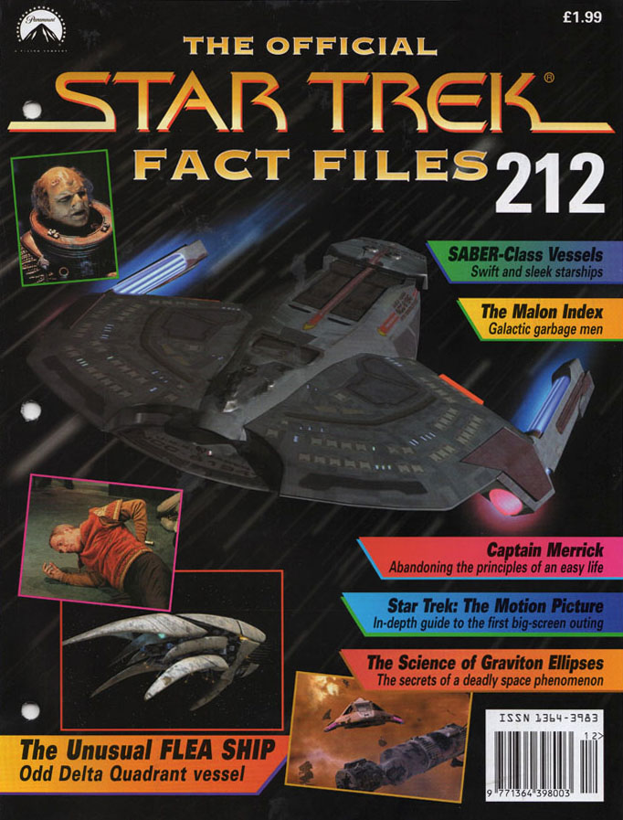 Star Trek Fact Files Cover 212