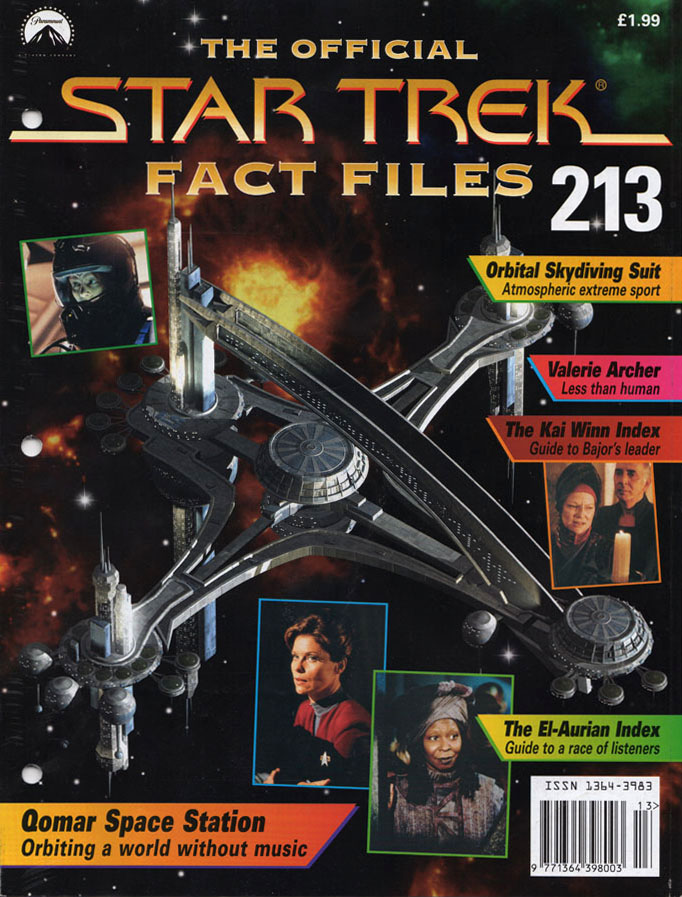 Star Trek Fact Files Cover 213
