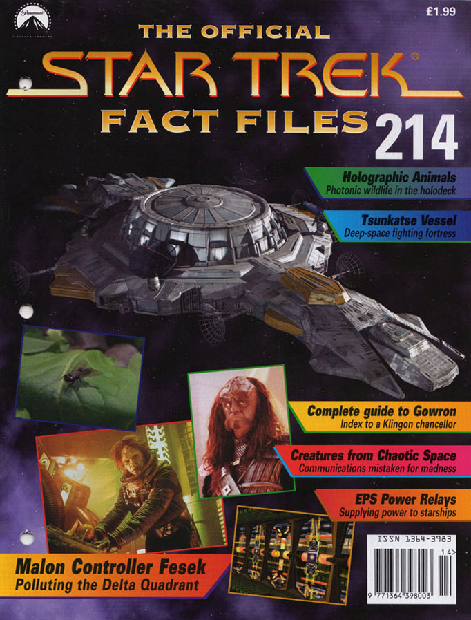 Star Trek Fact Files Cover 214