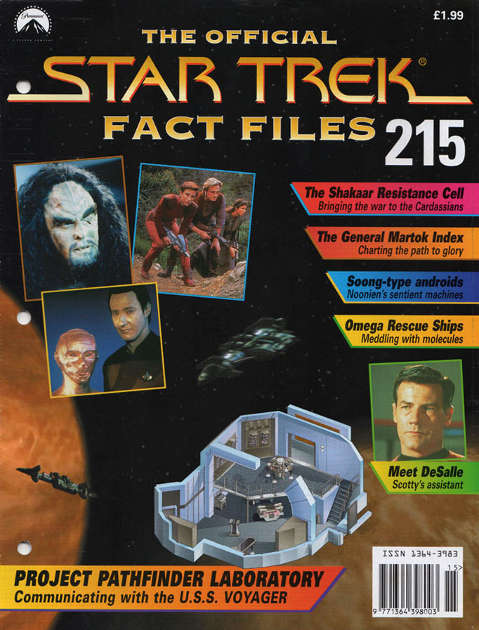 Star Trek Fact Files Cover 215
