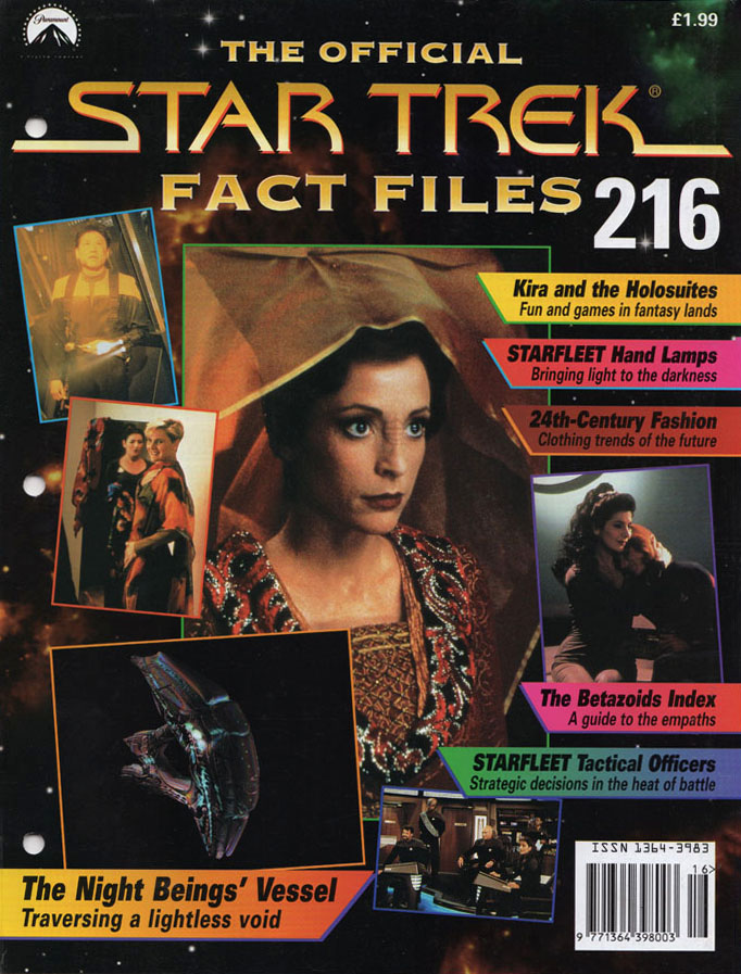 Star Trek Fact Files Cover 216