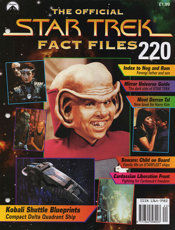 Star Trek Fact Files Cover 220