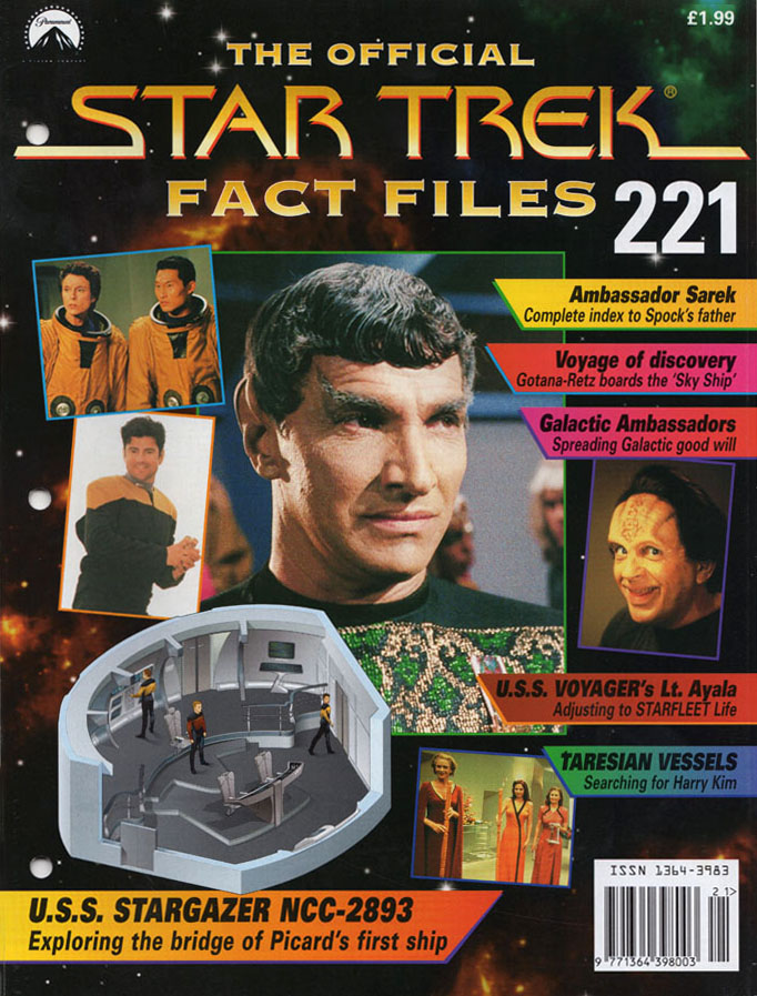 Star Trek Fact Files Cover 221