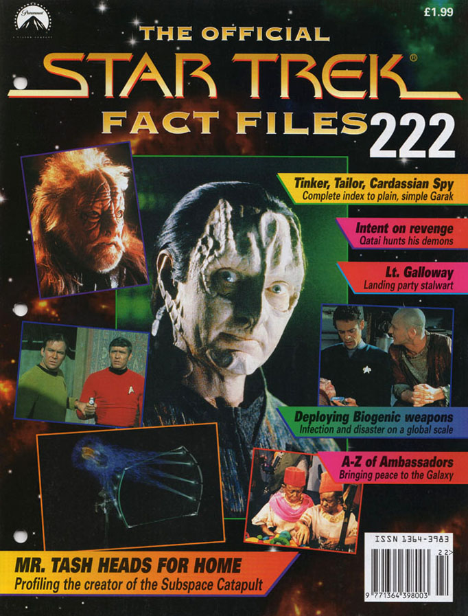 Star Trek Fact Files Cover 222