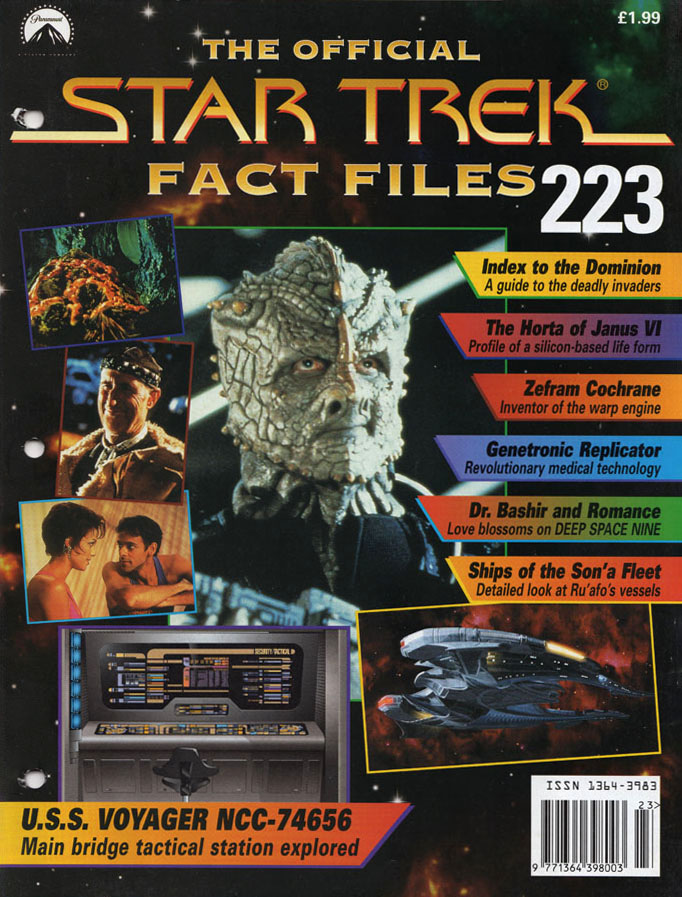Star Trek Fact Files Cover 223
