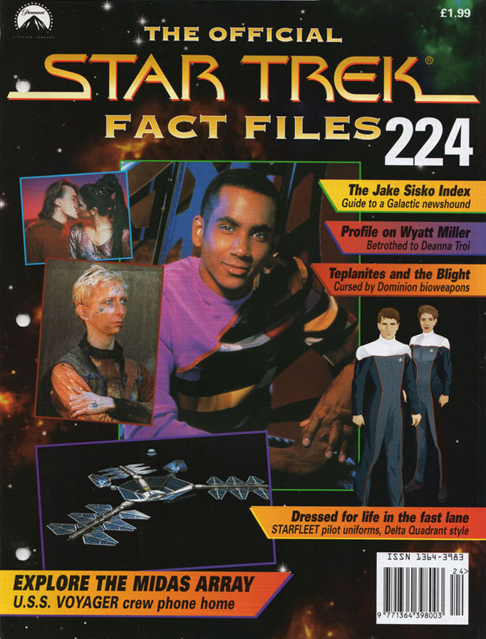 Star Trek Fact Files Cover 224