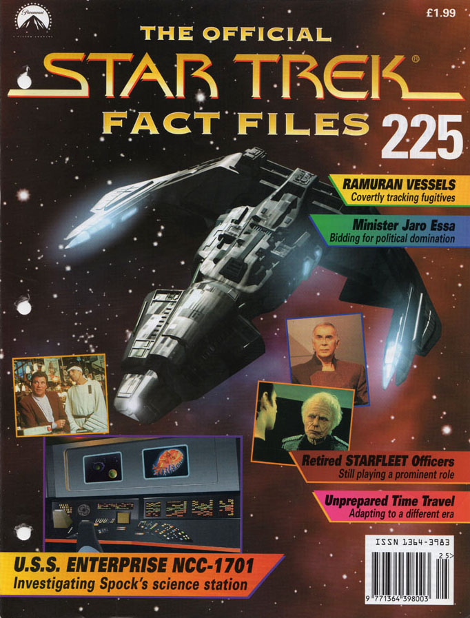 Star Trek Fact Files Cover 225