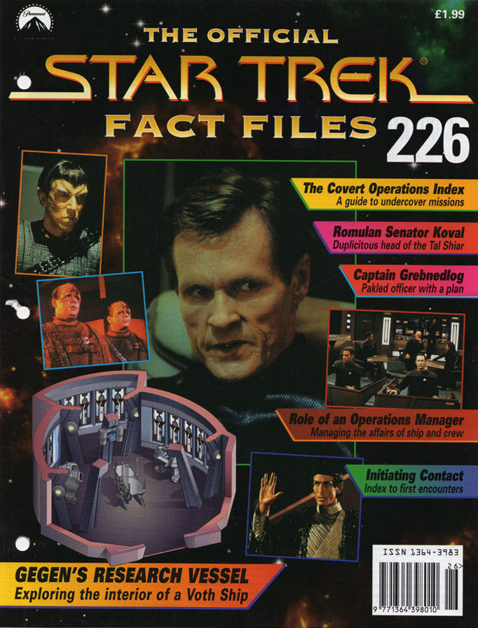 Star Trek Fact Files Cover 226