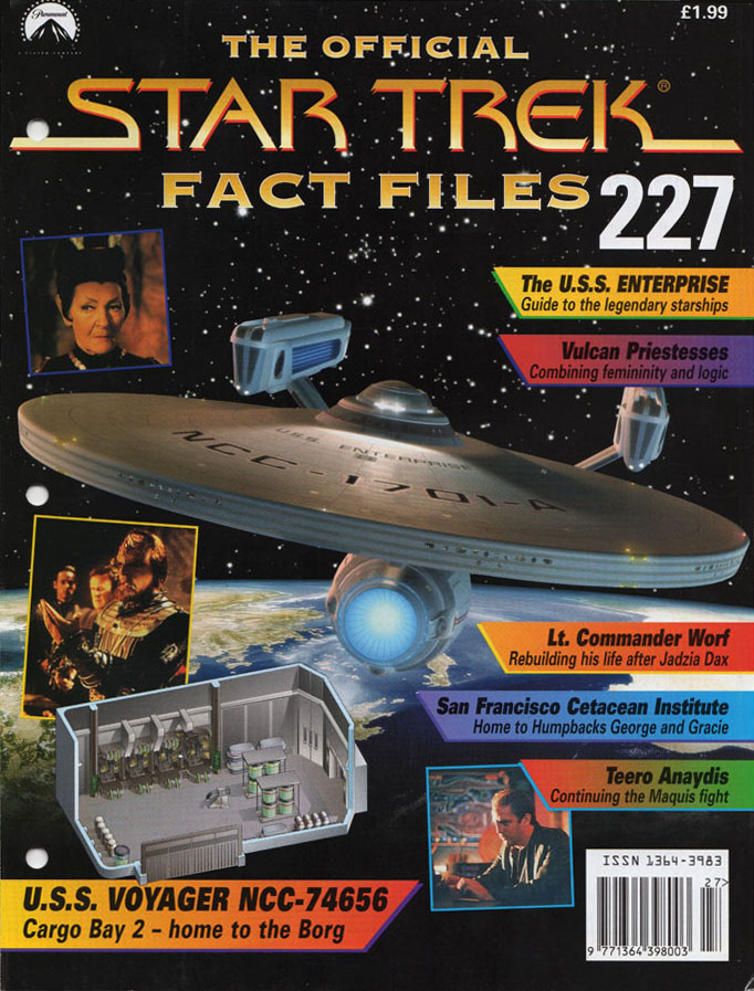 Star Trek Fact Files Cover 227