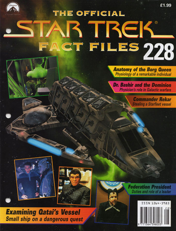 Star Trek Fact Files Cover 228