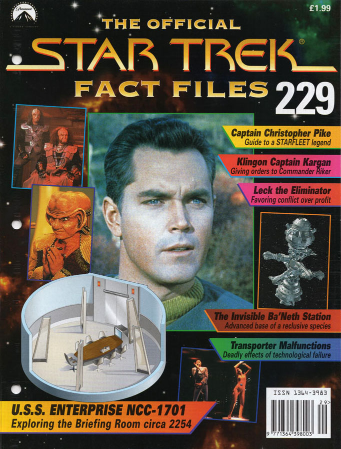 Star Trek Fact Files Cover 229