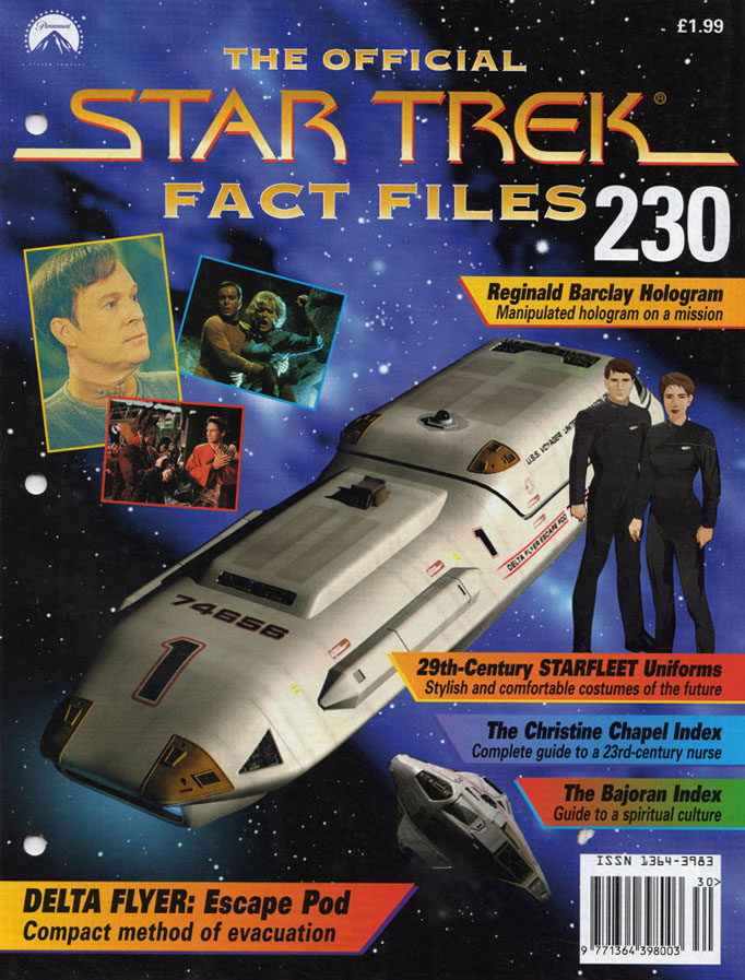 Star Trek Fact Files Cover 230