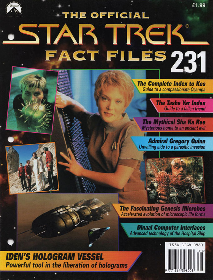 Star Trek Fact Files Cover 231