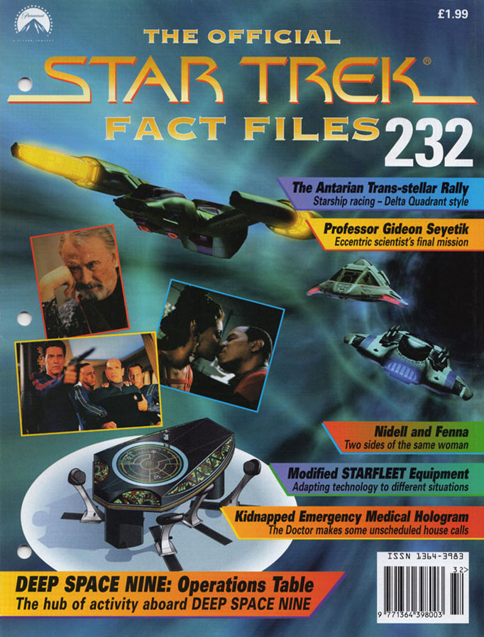 Star Trek Fact Files Cover 232