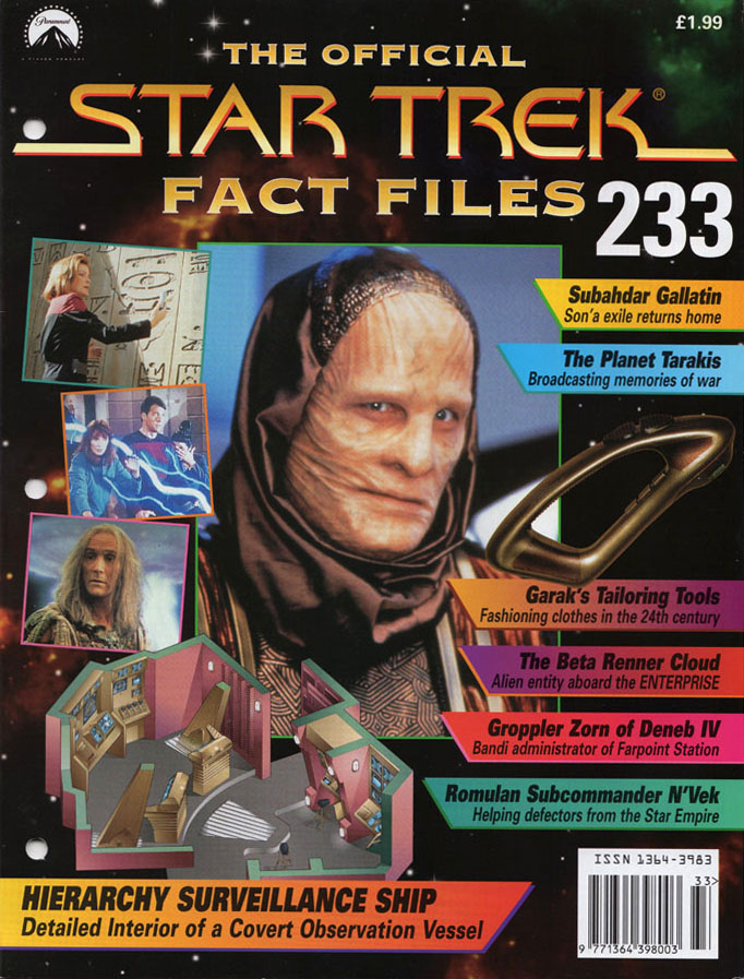Star Trek Fact Files Cover 233