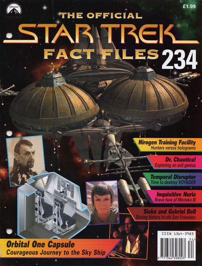 Star Trek Fact Files Cover 234