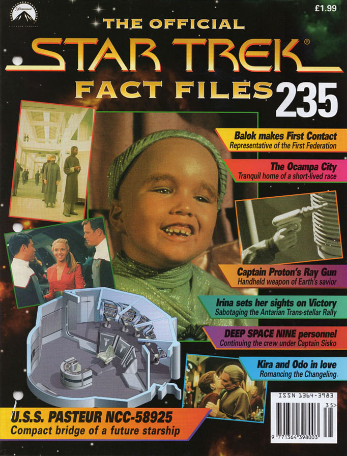 Star Trek Fact Files Cover 235