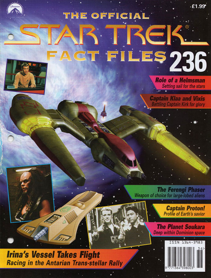 Star Trek Fact Files Cover 236