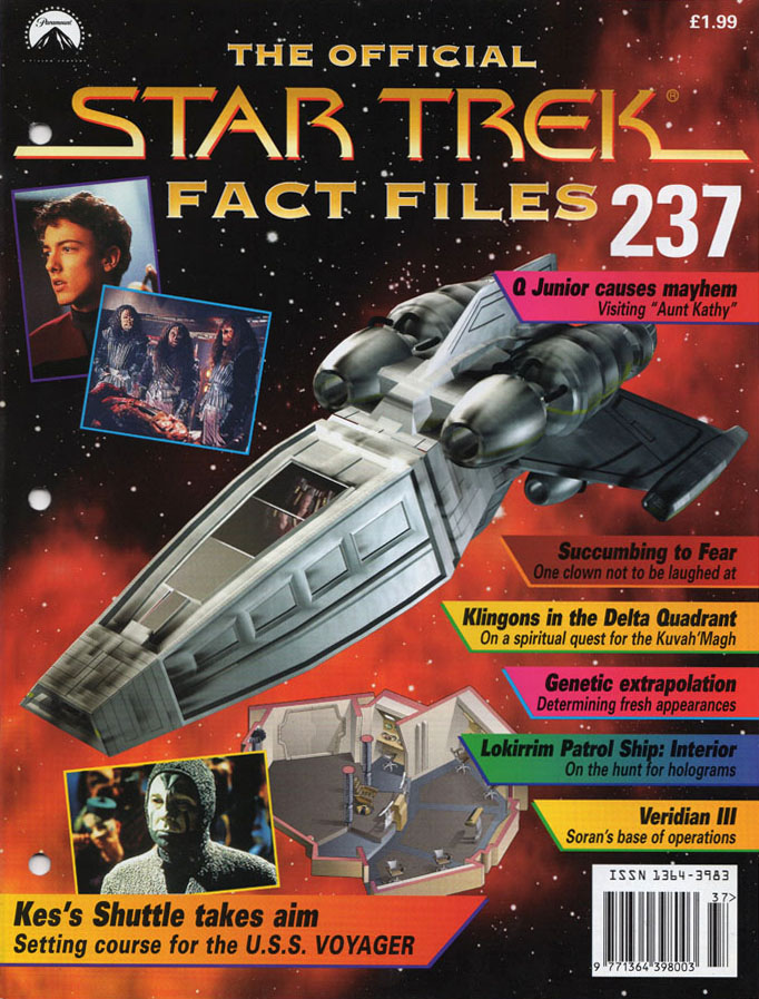 Star Trek Fact Files Cover 237