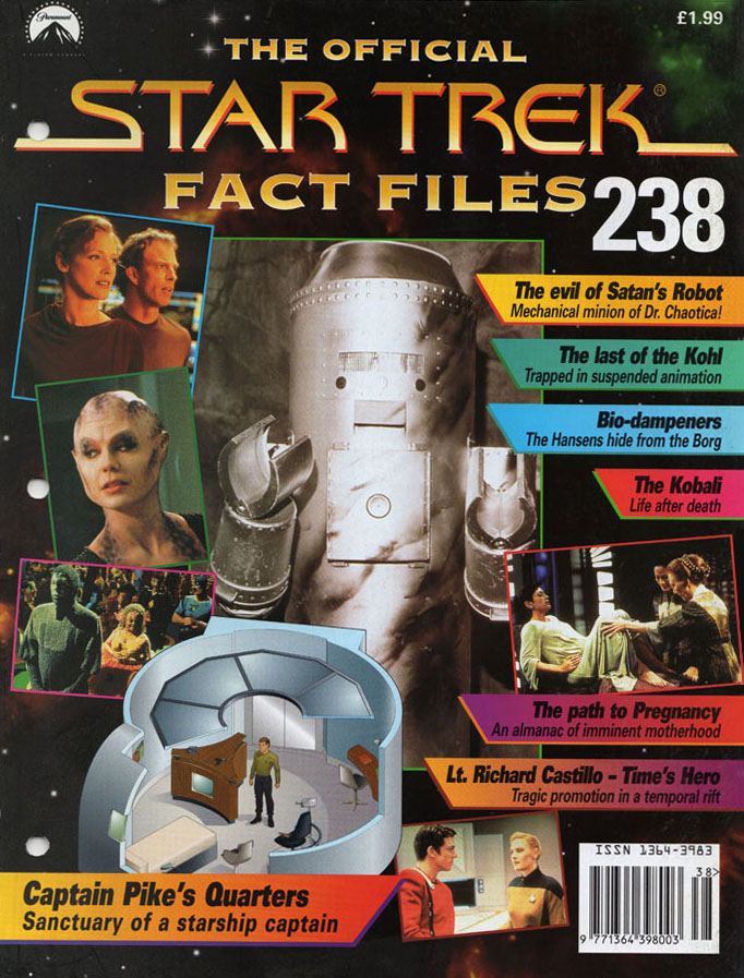 Star Trek Fact Files Cover 238
