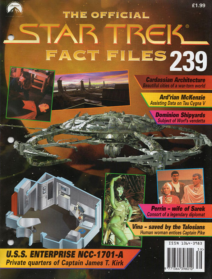 Star Trek Fact Files Cover 239