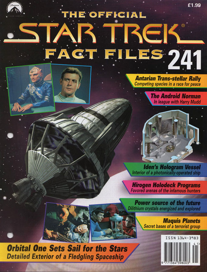 Star Trek Fact Files Cover 241