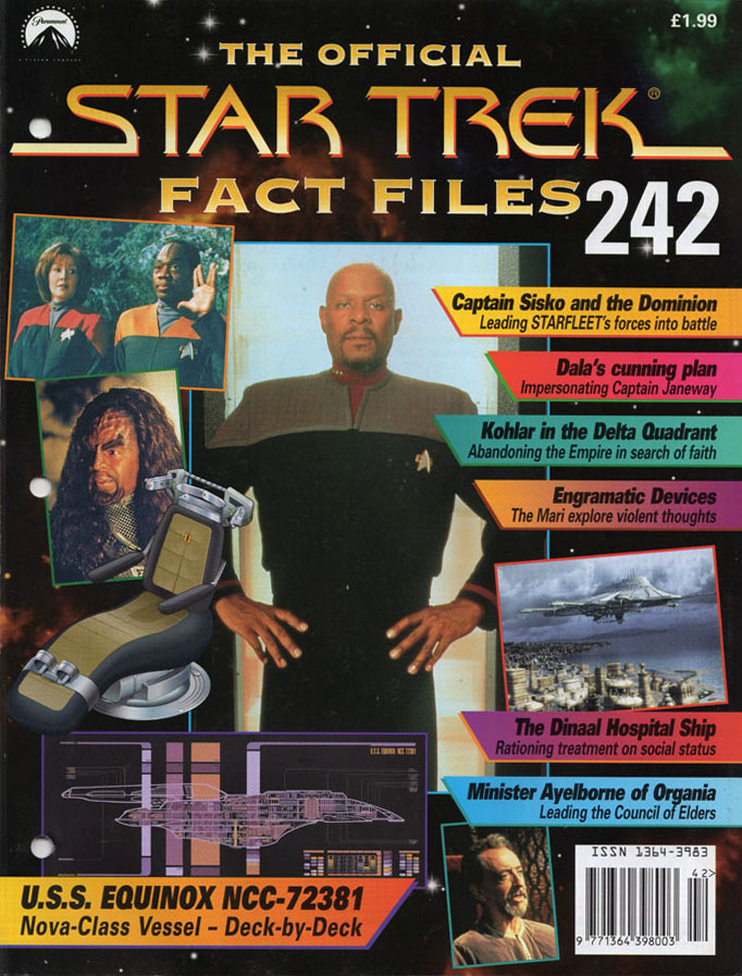 Star Trek Fact Files Cover 242