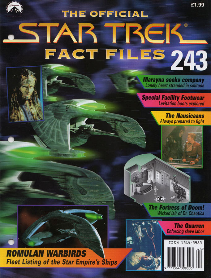 Star Trek Fact Files Cover 243