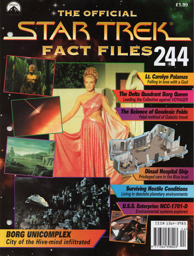 Star Trek Fact Files Cover 244
