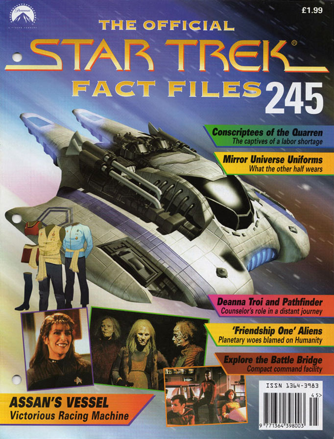 Star Trek Fact Files Cover 245