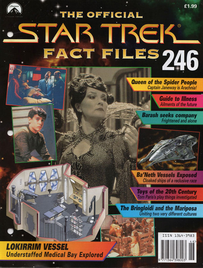 Star Trek Fact Files Cover 246
