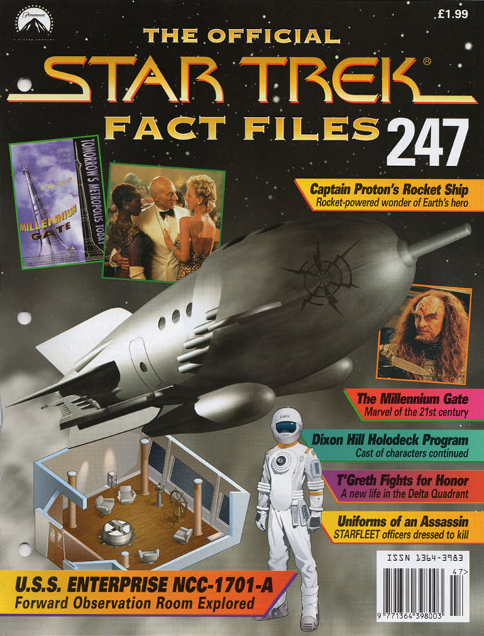 Star Trek Fact Files Cover 247
