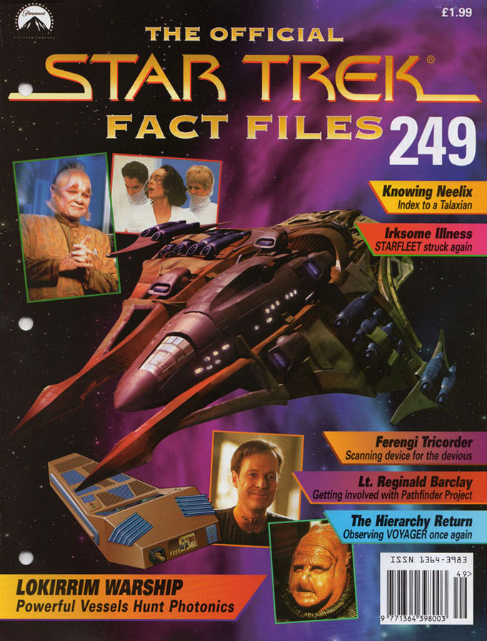 Star Trek Fact Files Cover 249