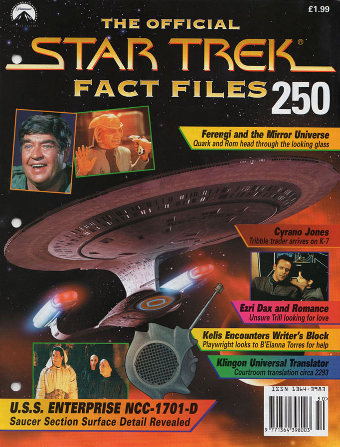 Star Trek Fact Files Cover 250