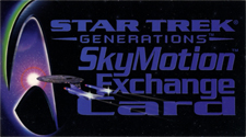 SkyMotion Exchange Card