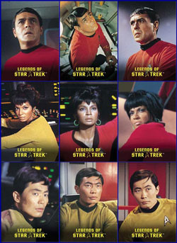 Scott, Uhura, Sulu Legends Set
