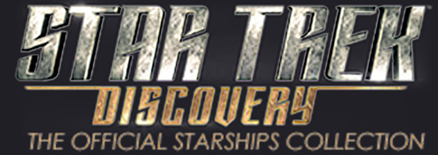 Eaglemoss Discovery Starships Collection Logo
