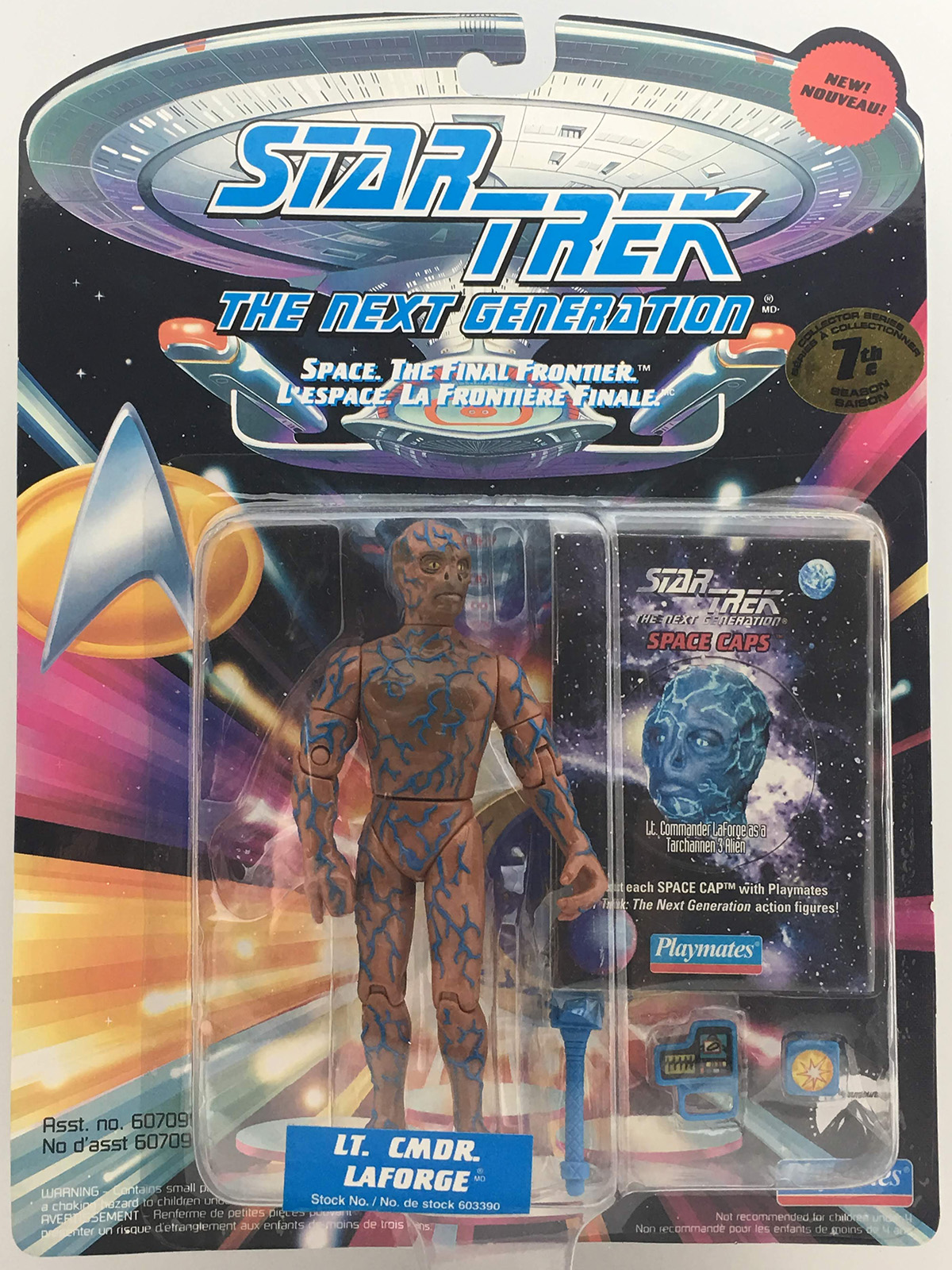 LaForge as Tarchannen III Alien
