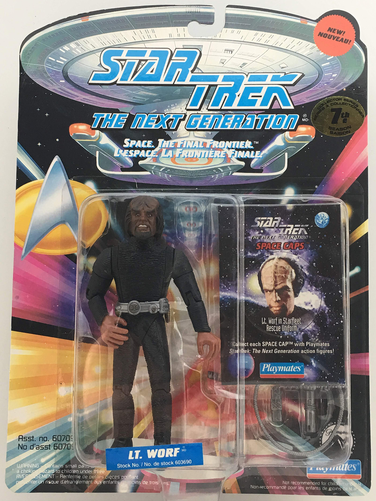 Worf in Rescue Outfit
