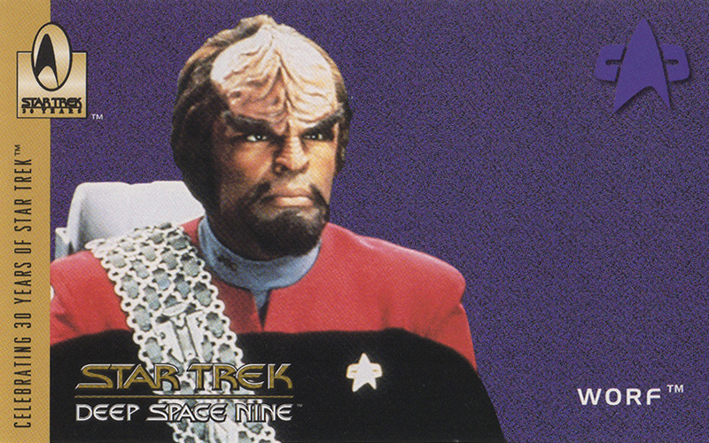 Worf from DS9