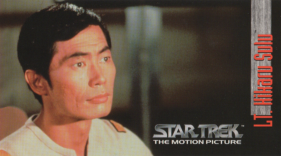 "Lt. Hikaru Sulu from ""Star Trek: The Motion Picture"""