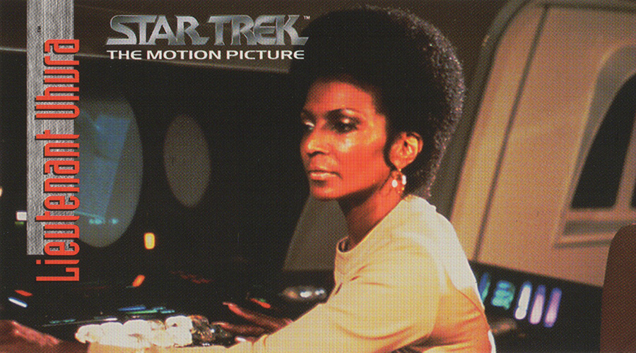 "Lieutenant Uhura from ""Star Trek: The Motion Picture"""