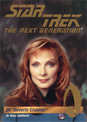 Dr. Beverly Crusher in Duty Uniform