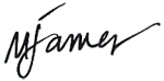 Mike James Signature