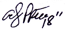 Andy Price Signature