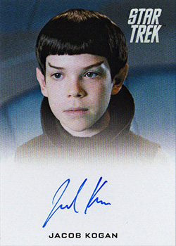 Autograph - Jacob Kogan