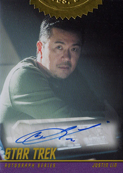 Autograph - Justin Linn - Movie Director