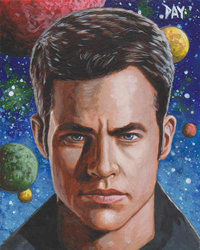 David Day Unofficial Sketch - James T. Kirk